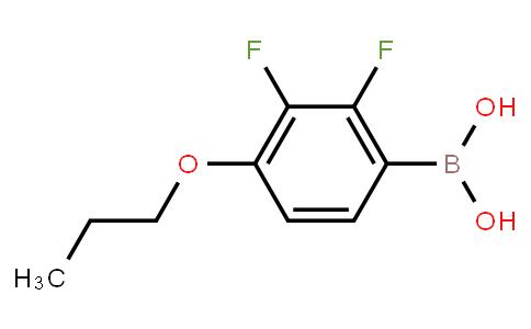 BP22419 | 212837-49-5 | 2,3-DIFLUORO-4-PROPOXYPHENYLBORONIC ACID