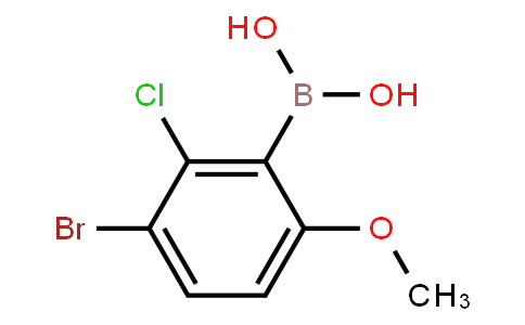 BP22453 | 1309981-00-7 | 3-Bromo-2-chloro-6-methoxyphenylboronic acid