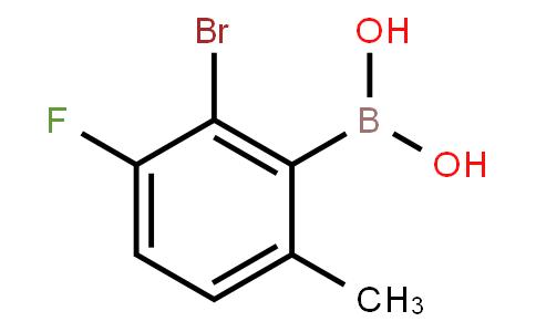 BP22457 | 1315340-53-4 | 2-Bromo-3-fluoro-6-methylphenylboronicacid