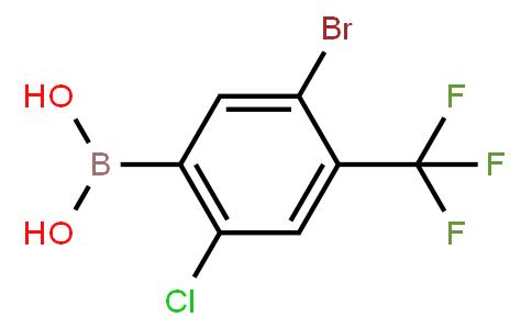 BP22460 | 1452574-71-8 | 5-Bromo-2-chloro-4-(trifluoromethyl)phenylboronicacid