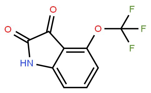 BP22469 | 959236-54-5 | 4-(TRIFLUOROMETHOXY)ISATIN