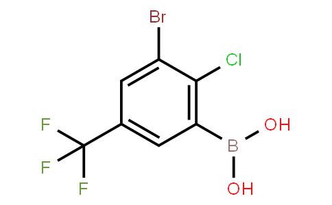 BP22473 | 957120-85-3 | 3-Bromo-2-chloro-5-(trifluoromethyl)phenylboronic acid