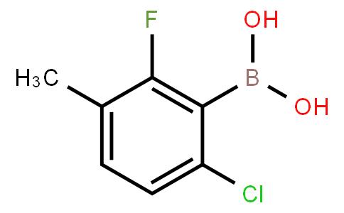 BP22474 | 352535-86-5 | 2-Fluoro-3-methyl-6-chlorophenylboronic acid