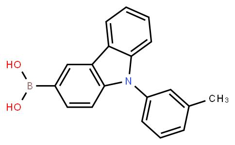 BP22564 | 1609267-35-7 | (9-(m-tolyl)-9H -carbazol-3-yl) boronic acid