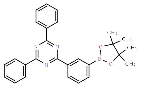 BP22567 | 1269508-31-7 | 2,4-Diphenyl-6-[3-(4,4,5,5-tetramethyl-1,3,2-dioxaborolan-2-yl)phenyl]-1,3,5-triazine