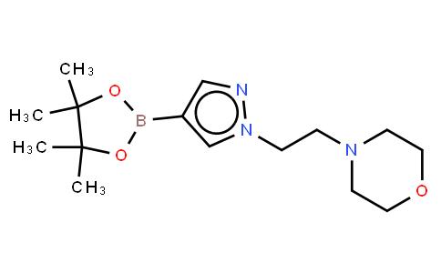 BP22571   864754-18-7   1-(2-Morpholinoethyl)-1H-pyrazole-4-boronic acid, pinacol ester