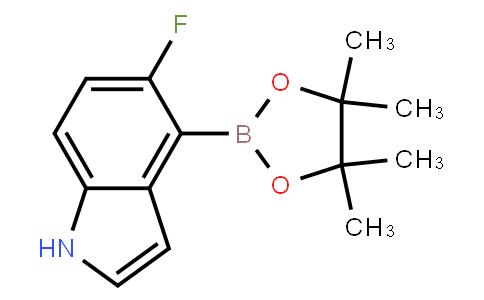 BP22579   1072009-08-5   5-Fluoro-4-(4,4,5,5-tetramethyl-1,3,2-dioxaborolan-2-yl)-1H-indole