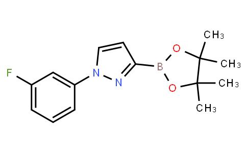 BP22586 | 1402240-90-7 | 1-(3-fluorophenyl)-3-(4,4,5,5-tetramethyl-1,3,2-dioxaborolan-2-yl)-1H-pyrazole