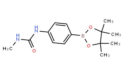 BP22588 | 874290-99-0 | 1-Methyl-3-(4-(4,4,5,5-tetramethyl-1,3,2-dioxaborolan-2-yl)phenyl)urea