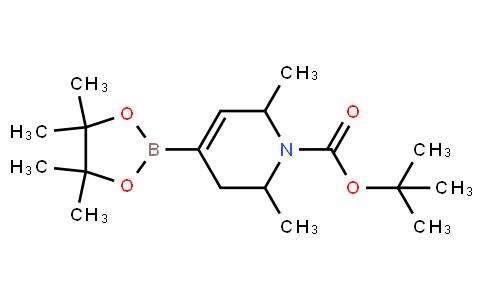 BP22591 | 1005397-65-8 | tert-Butyl 2,6-dimethyl-4-(4,4,5,5-tetramethyl-1,3,2-dioxaborolan-2-yl)-5,6-dihydropyridine-1(2H)-carboxylate
