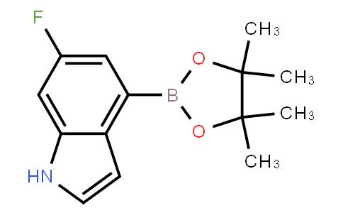 BP22596 | 955978-85-5 | 6-Fluoro-4-(4,4,5,5-tetramethyl-1,3,2-dioxaborolan-2-yl)-1H-indole