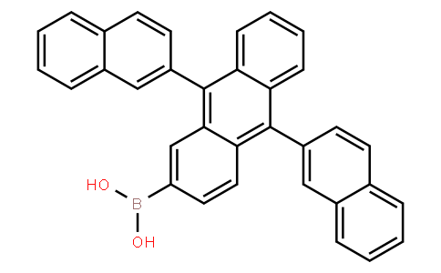 BP22604 | 867044-28-8 | 9,10-Bis(2-naphthyl)anthracene-2-ylboronic acid