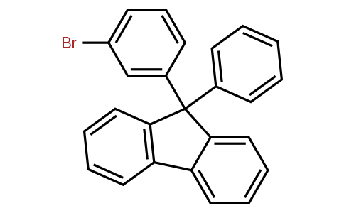 BP22613 | 1257251-75-4 | 9-(3-Bromophenyl)-9-phenyl-9H-fluorene