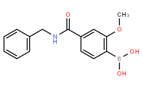 BP22620 | 4-(Benzylcarbamoyl)-2-methoxyphenylboronic acid