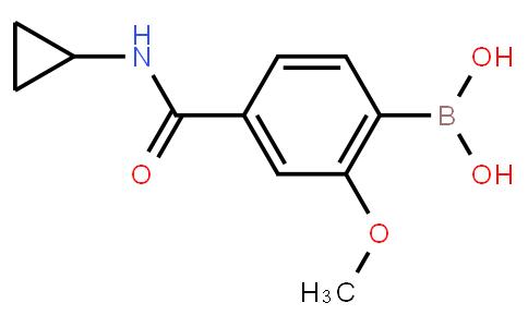 BP22622 | 1351373-76-6 | 4-(Cyclopropylcarbamoyl)-2-methoxyphenylboronic acid