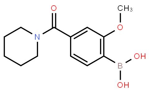 BP22624   4-(Piperidine-1-carbonyl)-2-methoxyphenylboronic acid