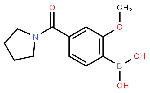 BP22625 | 4-(Pyrrolidine-1-carbonyl)-2-methoxyphenylboronic acid