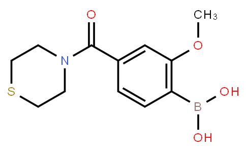 BP22626 | 4-(Thiomorpholine-4-carbonyl)-2-methoxyphenylboronic acid
