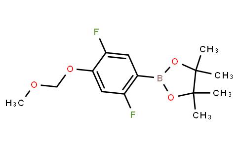 BP22629 | 2,5-Difluoro-4-(methoxymethoxy)phenylboronic acid pinacol ester