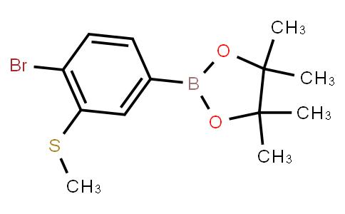 BP22630 | 4-Bromo-3-(methylthio)phenylboronic acid pinacol ester