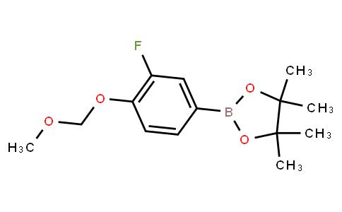 BP22631 | 1248556-02-6 | 3-Fluoro-4-(methoxymethoxy)phenylboronic acid pinacol ester