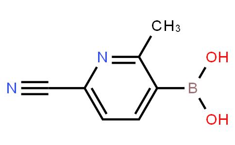 BP22635 | 2225180-00-5 | (6-Cyano-2-methylpyridin-3-yl)boronic acid