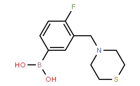 BP22643   1228594-54-4   4-Fluoro-3-(thiomorpholinomethyl)phenylboronic acid