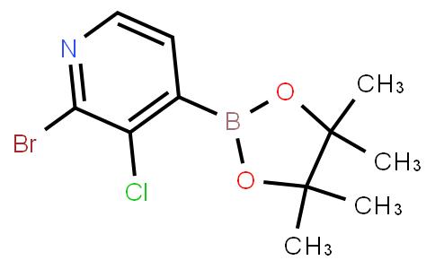 BP22654   2-Bromo-3-chloropyridine-4-boronic acid pinacol ester