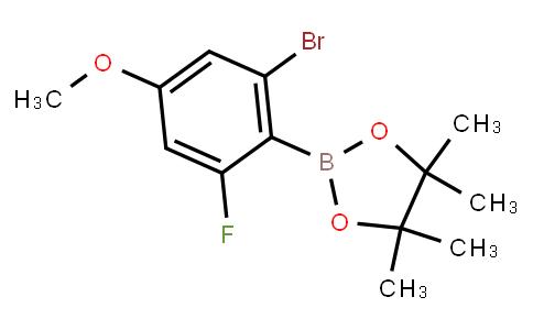 BP22655   2-Bromo-4-methoxy-6-fluorophenylboronic acid pinacol ester