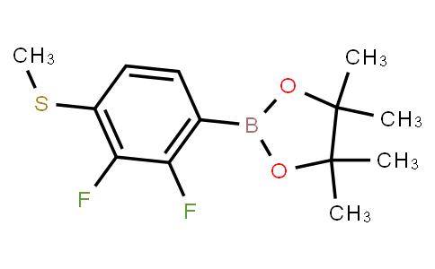 BP22656   2,3-Difluoro-4-(methylsulfanyl)phenylboronic acid pinacol ester
