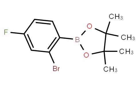 BP22659 | 1595078-01-5 | 2-Bromo-4-fluorophenylboronic acid pinacol ester