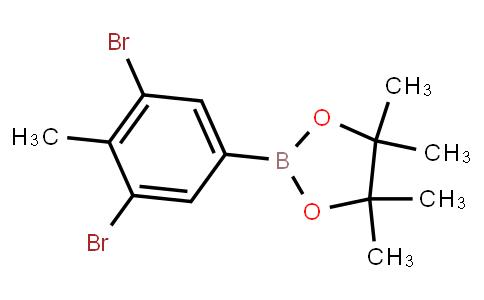 BP22665 | 1236348-90-5 | 3,5-Dibromo-4-methylphenylboronic acid pinacol ester