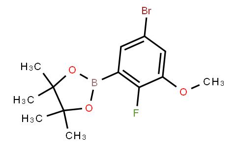 BP22670 | 1638847-72-9 | 5-Bromo-2-fluoro-3-methoxyphenylboronic acid pinacol ester