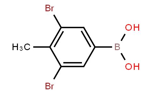 BP22677   2241870-51-7   3,5-Dibromo-4-methylphenylboronic acid