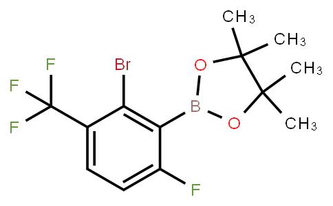 BP22682   2-Bromo-6-fluoro-3-trifluoromethylphenylboronic acid pinacol ester