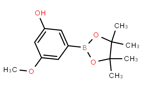 BP22688 | 906008-22-8 | 3-Methoxy-5-(4,4,5,5-tetramethyl-1,3,2-dioxaborolan-2-yl)phenol