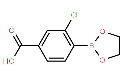 BP22689   3-Chloro-4-(1,3,2-dioxaborolan-2-yl)benzoic acid