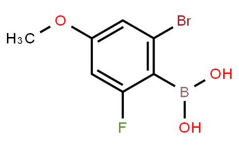 BP22694 | 1315476-03-9 | 2-Bromo-4-methoxy-6-fluorophenylboronic acid