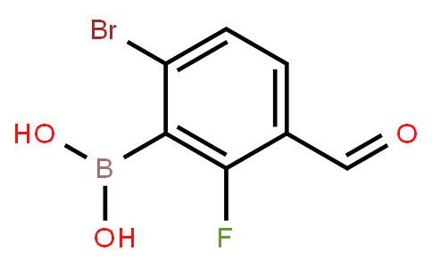 BP22698 | 1315340-55-6 | 6-Bromo-2-fluoro-3-formylphenylboronic acid