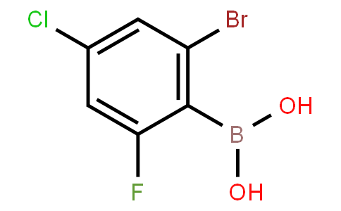 BP22699 | 2-Bromo-6-fluoro-4-chlorophenylboronic acid