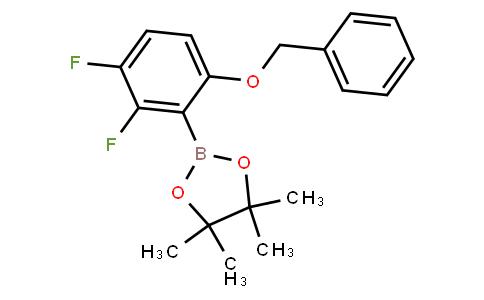 BP22704   1204580-70-0   2,3-Difluoro-6-benzyloxyphenylboronic acid pinacol ester