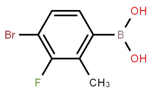 BP22707 | 4-Bromo-3-fluoro-2-methylphenylboronic acid