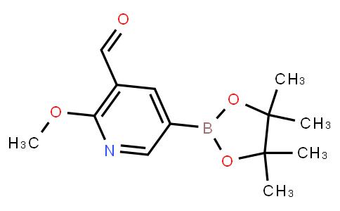 BP22709 | 1310404-57-9 | 5-Formyl-6-methoxypyridine-3-boronic acid pinacol ester