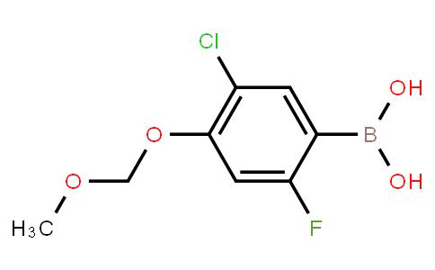 BP22712 | 3-Chloro-6-fluoro-4-(methoxymethoxy)phenylboronic acid