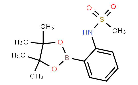 BP22719   380430-60-4   2-Methylsulfonylaminophenylboronic acid, pinacol ester