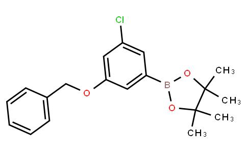 BP22724 | 3-(Benzoxy)-5-chlorophenylboronic acid pinacol ester