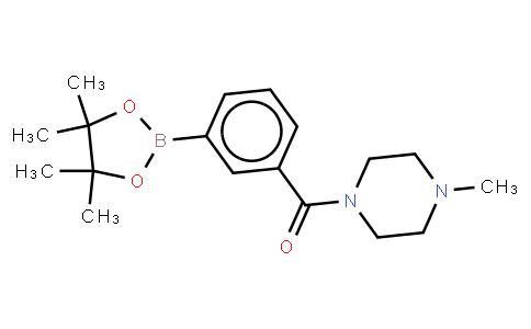 BP22725 | 883738-38-3 | 3-(4-Methylpiperazine-1-carbonyl)phenylboronic acid, pinacol ester