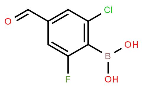 BP22733 | 2-Chloro-6-fluoro-4-formylphenylboronic acid