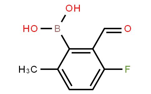 BP22735   3-Fluoro-2-formyl-6-methylphenylboronic acid