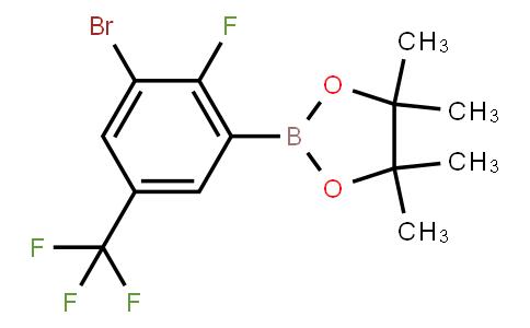 BP22745 | 1799485-19-0 | 3-Bromo-2-fluoro-5-trifluoromethylphenylboronic acid pinacol ester